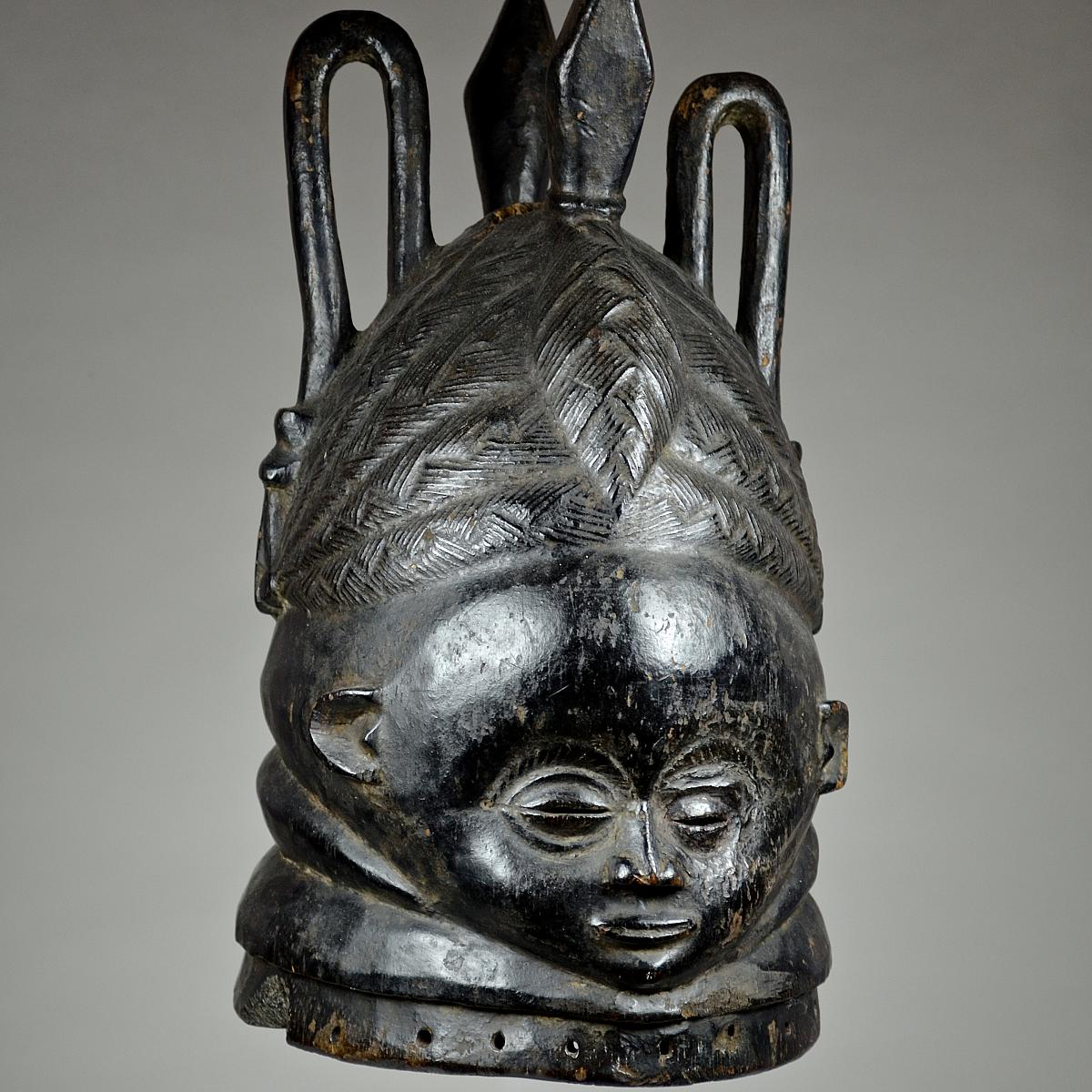 Bundu mask from the Sande Society