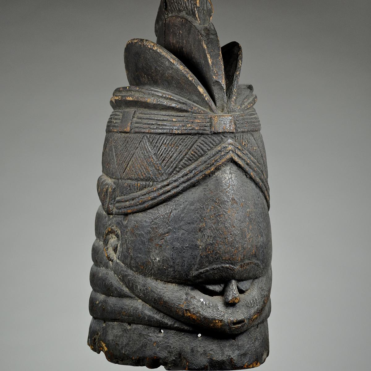 Bundu mask from the Sande Society 3