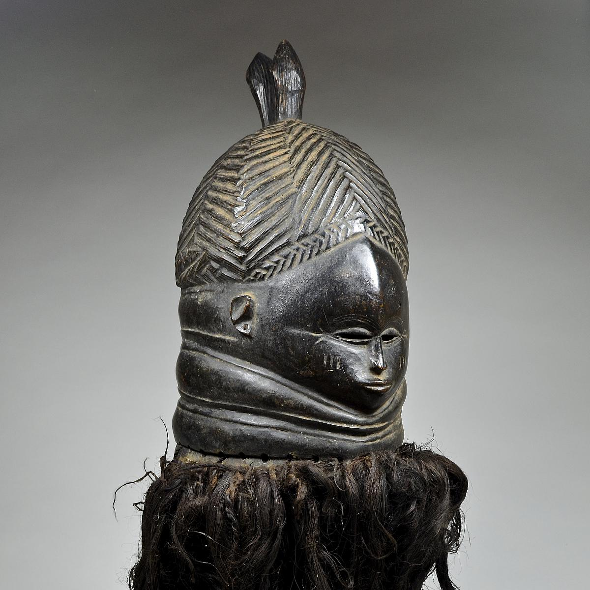 Bundu mask from the Sande Society 10